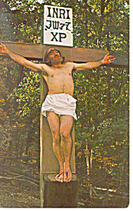 Great Passion Play, Eureka Springs,AR Postcard (Image1)