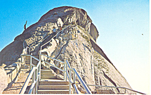 Sequoia National Park,CA, Moro Rock Postcard (Image1)