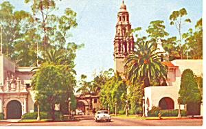 Balboa Park, San Diego, CA Postcard (Image1)