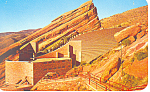 Red Rocks Theatre Co Postcard P14879