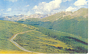 Rocky Mountain National Park CO Postcard p14882 (Image1)