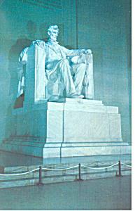 Lincoln Statue,Lincoln Memorial Postcard (Image1)