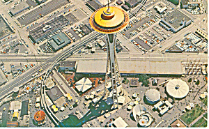 Space Needle Seattle WA Postcard p14886 (Image1)