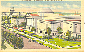 National Art Gallery, Washington, DC Postcard (Image1)