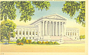 Us Supreme Court Building Washington Dc Postcard P14891