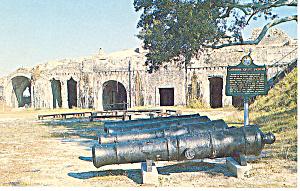Fort Pickens Santa Rosa Island FL Postcard p14953 (Image1)