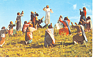 Passion Play Lake Wales FL Postcard p14960 (Image1)