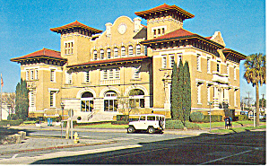 City Hall Pensacola Fl Postcard P14970