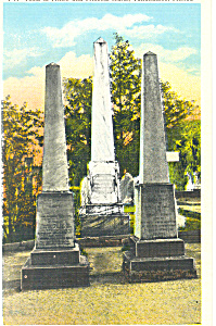 Tomb Prince Murat Tallahassee FL Postcard p14980 (Image1)