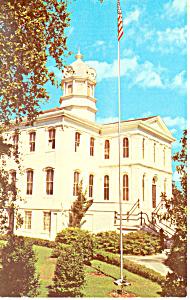 Courthouse Thomasville GA Postcard p14997 (Image1)