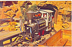 Calico Mine Donkey Engine Postcard p15029 (Image1)