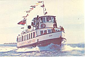 Beachcomber Cruiser Ship Fiji Postcard p15030 (Image1)
