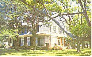 Mistletoe Cottage Jekyll Island GA Postcard p15060 (Image1)