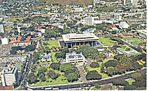 Palace Square Honolulu Hawaii Postcard p15067 (Image1)