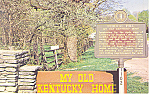 My Old Kentucky Home, Bardstown, KY Postcard (Image1)