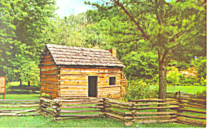 Lincoln Boyhood Home,Hodgenville, KY Postcard (Image1)