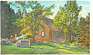 The Old Jail, York, ME Postcard (Image1)