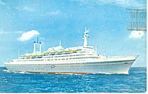 SS Rotterdam  Postcard p15097 1962 (Image1)