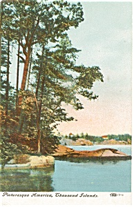 Thousand Islands Divided Back  Postcard p1509 (Image1)