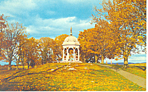 Maryland Monument,Antietam Battlefield, MD  Postcard (Image1)