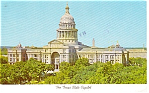 Austin TX State Capitol Postcard (Image1)