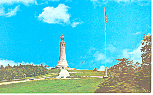 War Memorial Mt Greylock Ma Postcard P15173