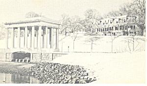 Plymouth Rock Hotel Menu Postcard p15178 (Image1)