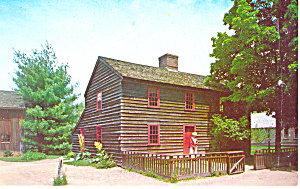 John Fenna House Sturbridge MA Postcard p15182 (Image1)