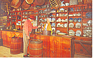 General Store,Sturbridge, MA Postcard (Image1)