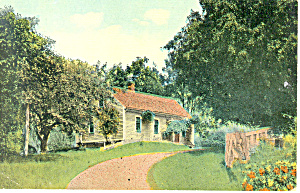Rural Home, Scenic Postcard