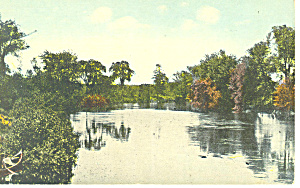 Lake Scene Postcard (Image1)