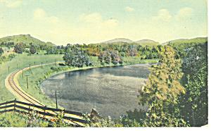 Railroad Tracks Along a River p15271 (Image1)
