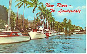 New River Ft Lauderdale Florida Postcard p15283 (Image1)