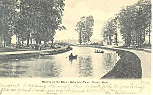 Belle Isle, Detroit, MI Postcard 1906 (Image1)