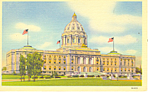 State Capitol,St Paul, MN Postcard (Image1)