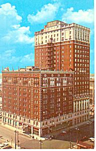 Pick Fort Shelby  Detroit  MI Postcard p15345 1962 (Image1)