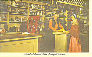 General Store Greenfield Village MI Postcard p15365 (Image1)