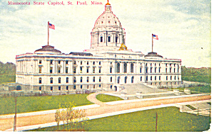 State Capitol,St Paul,MN Postcard (Image1)