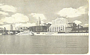 Skyline View of St Paul,MN Postcard  1943 (Image1)