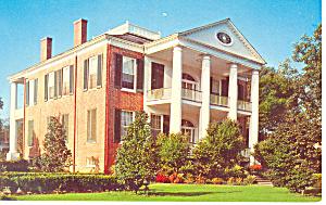 Rosalie Brick Home Natchez  MS Postcard p15415 (Image1)