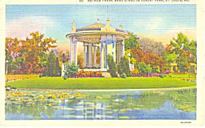 Forest Park,St Louis, MO Postcard 1939 (Image1)