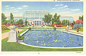 Shaw s Gardens St Louis MO Postcard p15438 1936 (Image1)