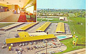 Holiday Inn St Louis MO Postcard p15468 1963 (Image1)