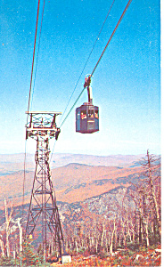 Nh Aerial Tramway On Cannon Mountain Postcard P15478 1956
