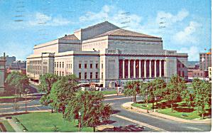 Kiel Auditorium, St Louis, MO Postcard (Image1)