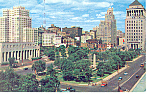 View of Downtown St Louis MO Postcard (Image1)