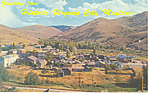 Virginia City, Montana Postcard (Image1)