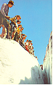Glacier National Park Montana Postcard p15509 (Image1)