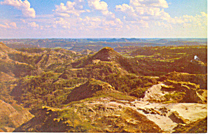 Badlands Eastern  Montana Postcard (Image1)