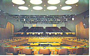 United Nations Economic Chamber Postcard (Image1)